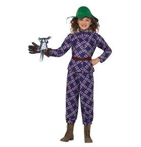 David Walliams Deluxe Awful Auntie Costume, Purple
