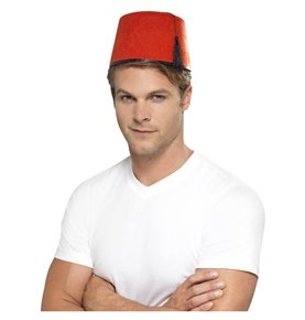 Fez Hat, Red