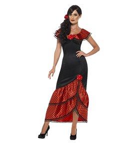 Flamenco Senorita Costume, Black