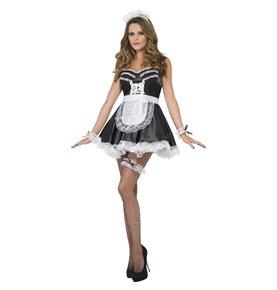 French Maid Set, Black & White