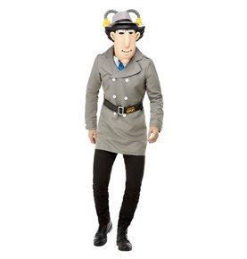 Inspector Gadget Costume, Grey