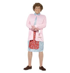 Mrs Brown Padded Costume, Pink