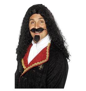 Musketeer Wig, Black