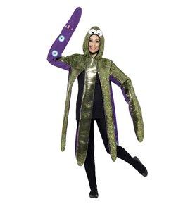 Octopus Costume, Foam Bonded, Purple
