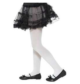 Opaque Tights, Childs, White