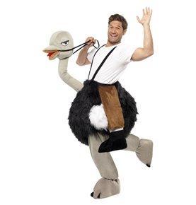 Ostrich Costume, Black