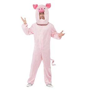 Pig Costume, Pink3