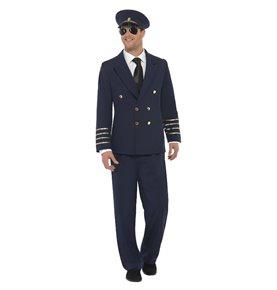 Pilot Costume, Navy Blue