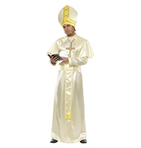 Pope Costume, Cream