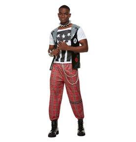 Punk Rocker Costume, Red2