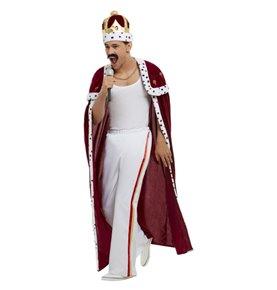Queen Deluxe Royal Costume, Red