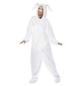 Rabbit Costume, White