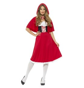 Red Riding Hood Costume, Red2