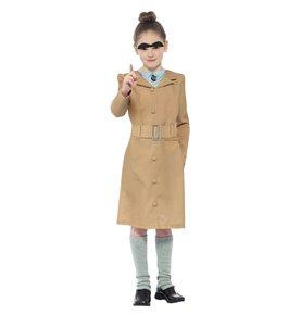 Roald Dahl Miss Trunchbull Costume, Beige