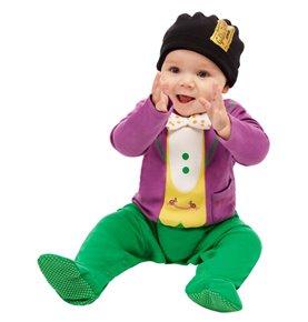 Roald Dahl Willy Wonka Baby Costume, Purple