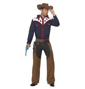 Rodeo Cowboy Costume, Blue