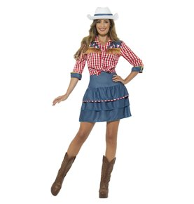 Rodeo Doll Costume, Blue