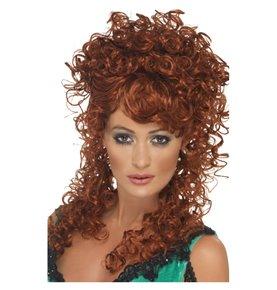 Saloon Girl Wig, Auburn