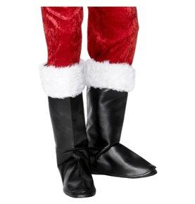 Santa Boot Covers, Black2