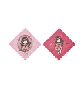 Santoro Gorjuss Ladybird Napkins, Pink