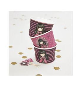 Santoro Gorjuss Ladybird Paper Treat Tubs & Topper