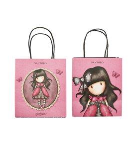 Santoro Gorjuss Ladybird Party Bags, Pink