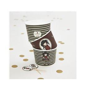 Santoro Gorjuss Ruby Paper Treat Tubs & Toppers