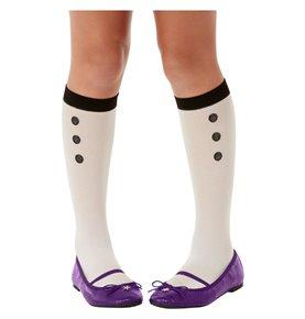 Santoro The Hour Socks, White