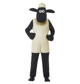 Shaun The Sheep Kids Costume, White
