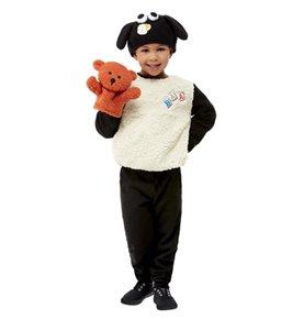 Shaun the Sheep Timmy Costume, White