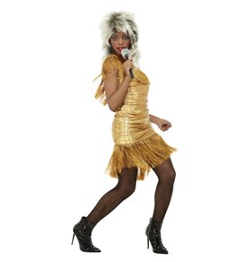 Simply The Best Legend Tina Costume, Gold