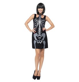 Skeleton Costume, Black5
