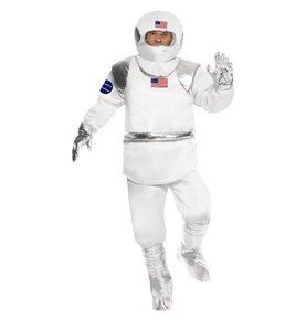 Spaceman Costume, White