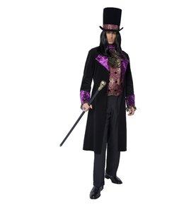 The Gothic Count Costume, Black