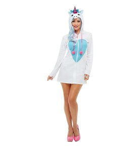 Unicorn Costume, White