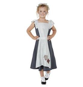 Victorian Maid Costume, Dark Grey