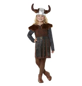Viking Princess Costume, Brown