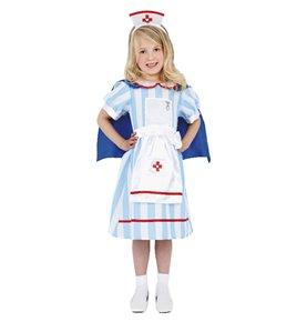 Vintage Nurse Costume, Blue