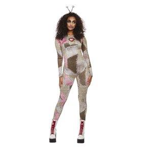Voodoo Doll Costume, Brown