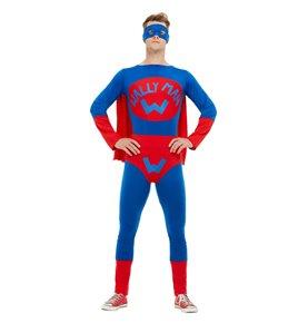 Wallyman Costume, Blue & Red