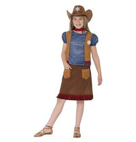 Western Belle Cowgirl Costume, Brown