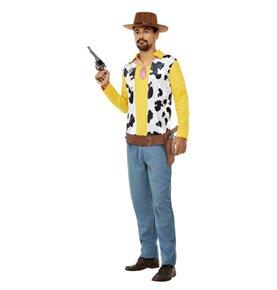 Western Cowboy Costume, Yellow