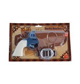 Western Water Pistol, Single Gun, Blue