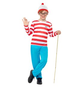 Where's Wally? Costume, Red & White2