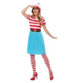 Where's Wally? Wenda Costume, Red & White2
