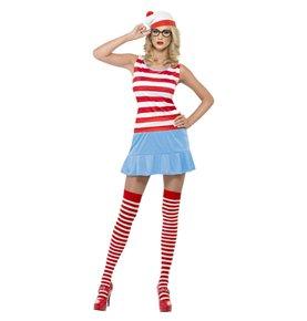 Where's Wenda? Cutie Costume, Red & White