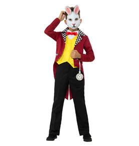 White Rabbit Costume, Multi-Coloured