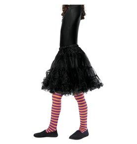 Wicked Witch Tights, Child, Orange & Purple