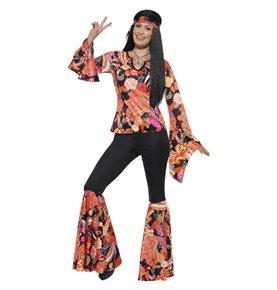 Willow the Hippie Costume, Multi-Coloured