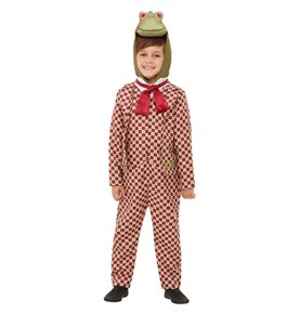 Wind in the Willows Deluxe Toad Costume, Red